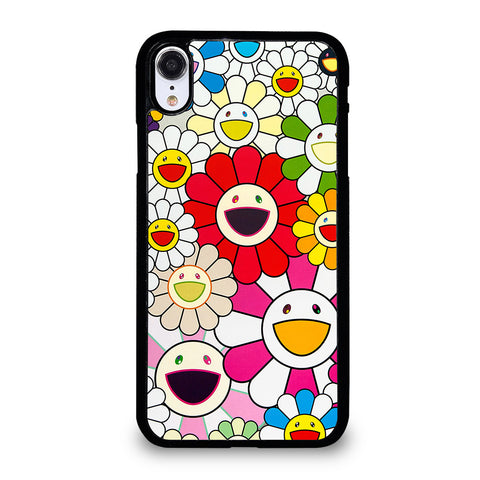 TAKASHI MURAKAMI FLOWERS 5 iPhone XR Case Cover