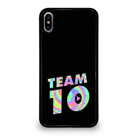TEAM 10 TIE DYE iPhone XS Max Case Cover
