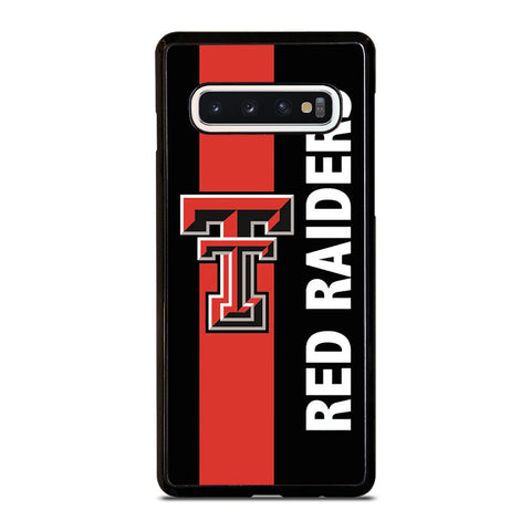 TEXAS TECH FOOTBALL Samsung Galaxy S10 Case Cover