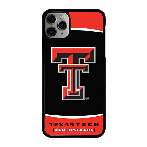 TEXAS TECH RED RAIDERS iPhone 11 Pro Max Case Cover