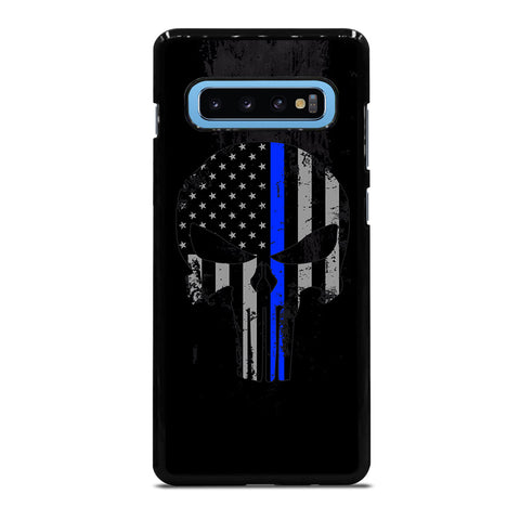 THIN BLUE LINE PUNISHER BLACK Samsung Galaxy S10 Plus Case Cover