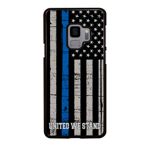 THIN BLUE LINE WE STAND Samsung Galaxy S9 Case Cover