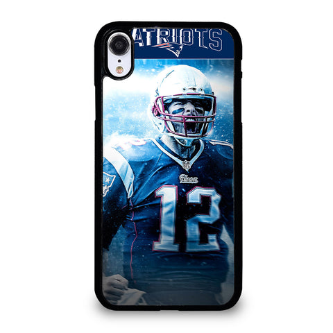 TOM BRADY PATRIOTS 2 iPhone XR Case Cover