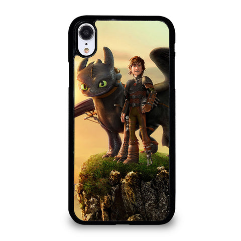 TOOTHLESS AND HICCUP iPhone XR Case Cover