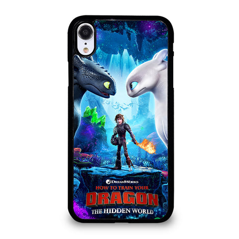 TOOTHLESS LIGHT FURY 2 iPhone XR Case Cover