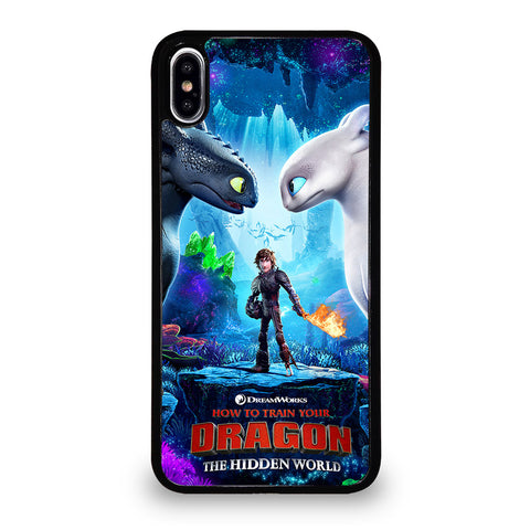 TOOTHLESS LIGHT FURY 2 iPhone XS Max Case Cover