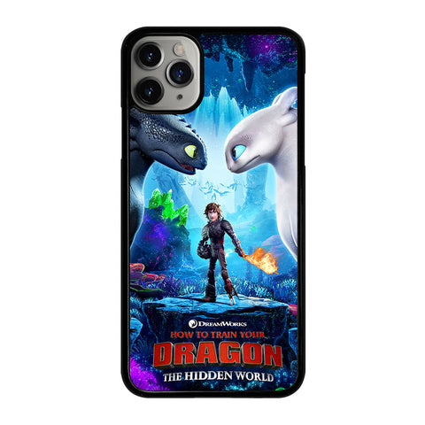 TOOTHLESS LIGHT FURY 2 iPhone 11 Pro Max Case Cover