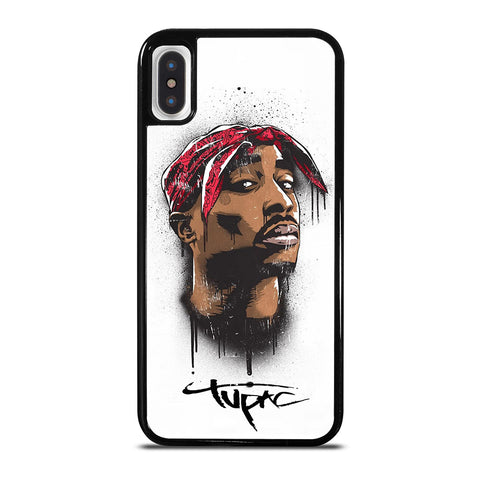 TUPAC 2PAC RAPPER 1 iPhone X / XS Case Cover