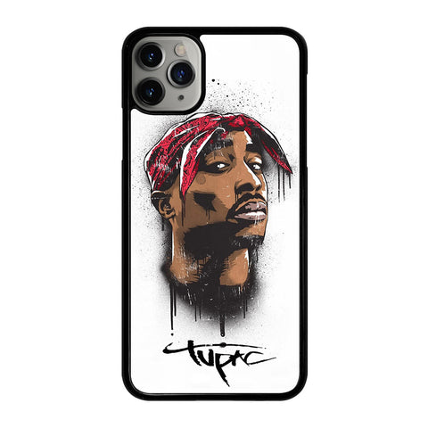 TUPAC 2PAC RAPPER 1 iPhone 11 Pro Max Case Cover