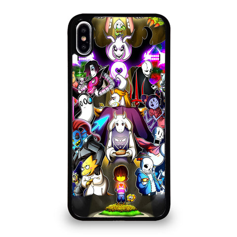 UNDERTALE ALL CHARACTER iPhone XS Max Case Cover