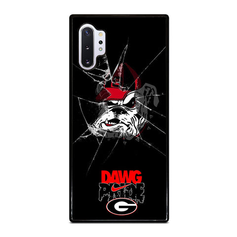 UNIVERSITY GEORGIA BULLDOGS 1 Samsung Galaxy Note 10 Plus Case Cover