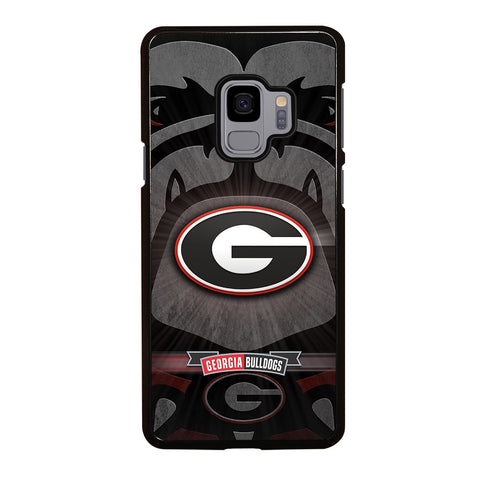 UNIVERSITY GEORGIA BULLDOGS 3 Samsung Galaxy S9 Case Cover