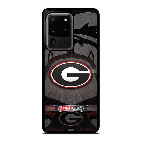 UNIVERSITY GEORGIA BULLDOGS 3 Samsung Galaxy S20 Ultra Case Cover