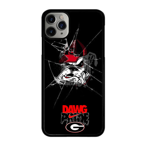UNIVERSITY GEORGIA BULLDOGS 1 iPhone 11 Pro Max Case Cover