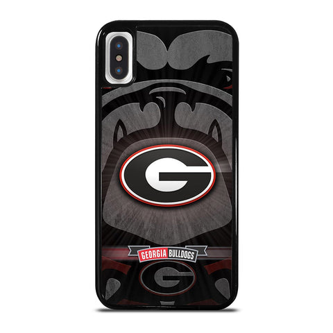 UNIVERSITY GEORGIA BULLDOGS 3 iPhone X / XS Case Cover