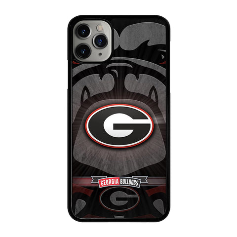 UNIVERSITY GEORGIA BULLDOGS 3 iPhone 11 Pro Max Case Cover