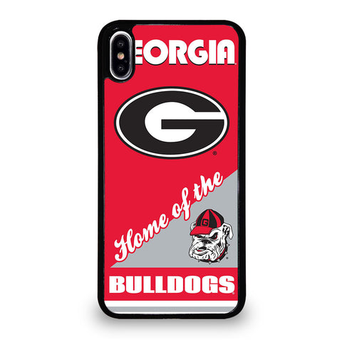 UNIVERSITY GEORGIA BULLDOGS 4 iPhone XS Max Case Cover