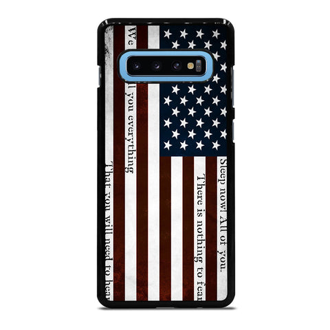 USA RED QUOTES Samsung Galaxy S10 Plus Case Cover