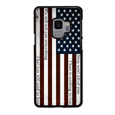 USA RED QUOTES Samsung Galaxy S9 Case Cover