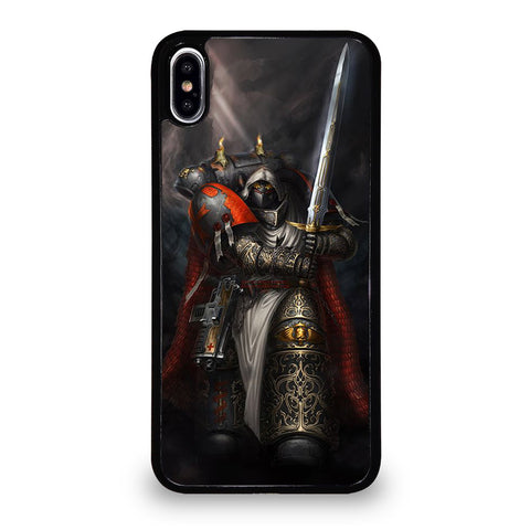 WARHAMMER BLACK TEMPLAR 3 iPhone XS Max Case Cover