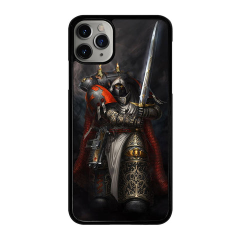 WARHAMMER BLACK TEMPLAR 3 iPhone 11 Pro Max Case Cover