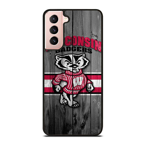 WISCONSIN BADGERS LOGO Samsung Galaxy S21 Case Cover
