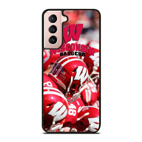 WISCONSIN BADGERS PRIDE Samsung Galaxy S21 Case Cover