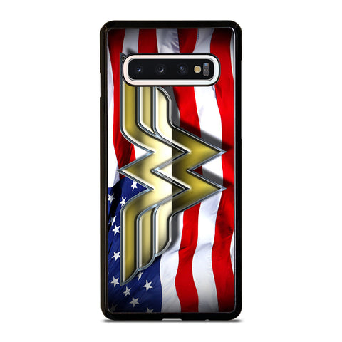 WONDER WOMAN AMERICAN Samsung Galaxy S10 Case Cover