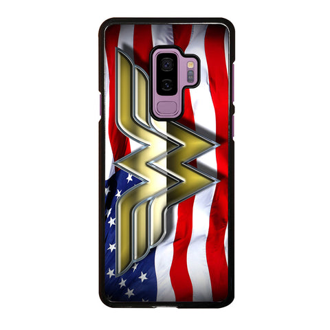 WONDER WOMAN AMERICAN Samsung Galaxy S9 Plus Case Cover