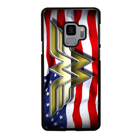 WONDER WOMAN AMERICAN Samsung Galaxy S9 Case Cover