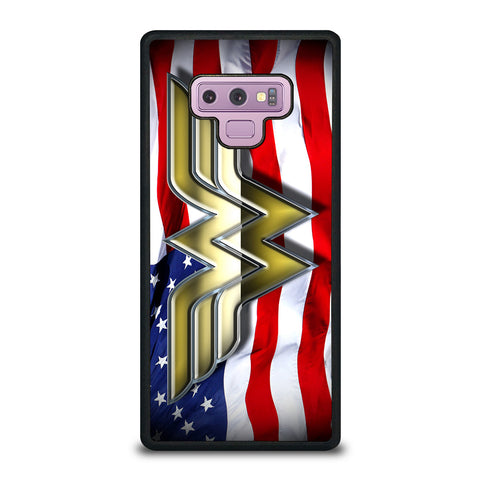 WONDER WOMAN AMERICAN Samsung Galaxy Note 9 Case Cover