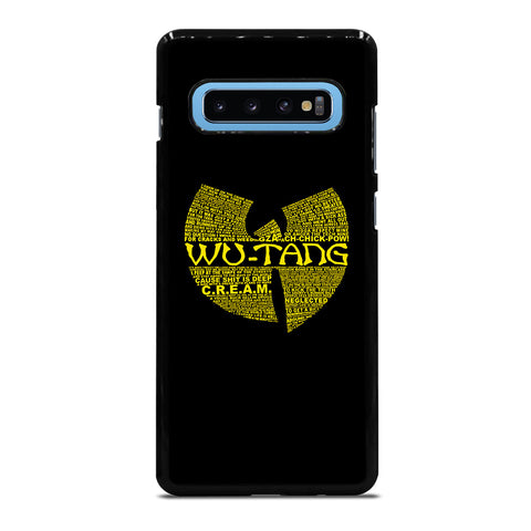 WU TANG CLAN HIP HOP Samsung Galaxy S10 Plus Case Cover