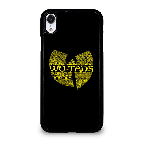 WU TANG CLAN HIP HOP iPhone XR Case Cover