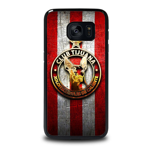 XOLOS TIJUANA GOLD LOGO Samsung Galaxy S7 Edge Case Cover