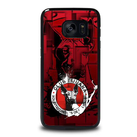 XOLOS TIJUANA PAINT LOGO Samsung Galaxy S7 Edge Case Cover