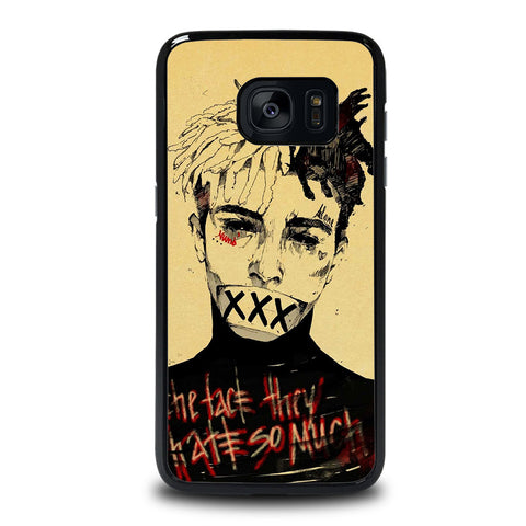 XXXTENTACION RAPPER FACE Samsung Galaxy S7 Edge Case Cover