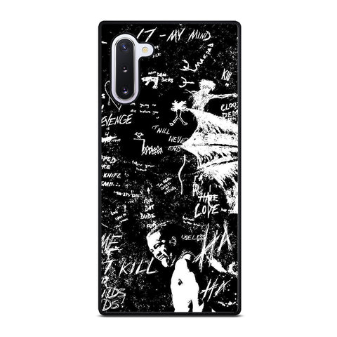 XXXTENTACION RAPPER QUOTE Samsung Galaxy Note 10 Case Cover