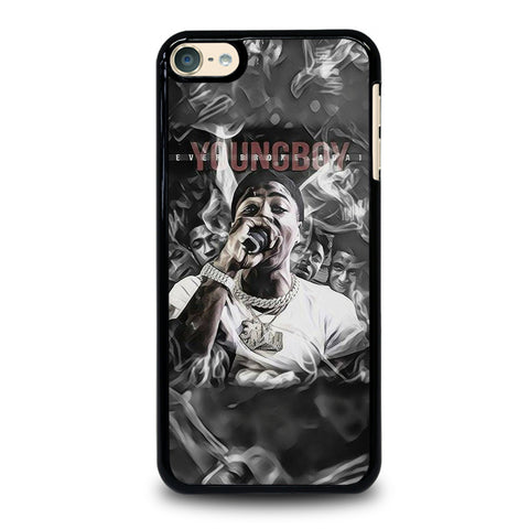 YOUNGBOY NBA RAPPER LIL TOP iPod Touch 6 Case Cover