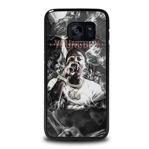 YOUNGBOY NBA RAPPER LIL TOP Samsung Galaxy S7 Edge Case Cover