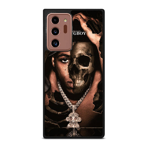 YOUNGBOY NBA RAPPER SKULL Samsung Galaxy Note 20 Ultra Case Cover