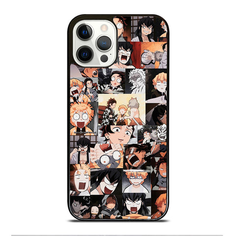 ZENITSU KAWAII COLLAGE iPhone 12 Pro Case Cover