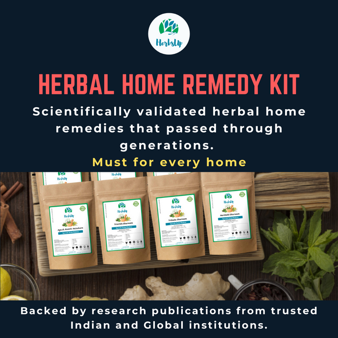 About Herbal Remedy Kit in Telugu