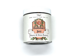 Holiday Joy Tea Jar