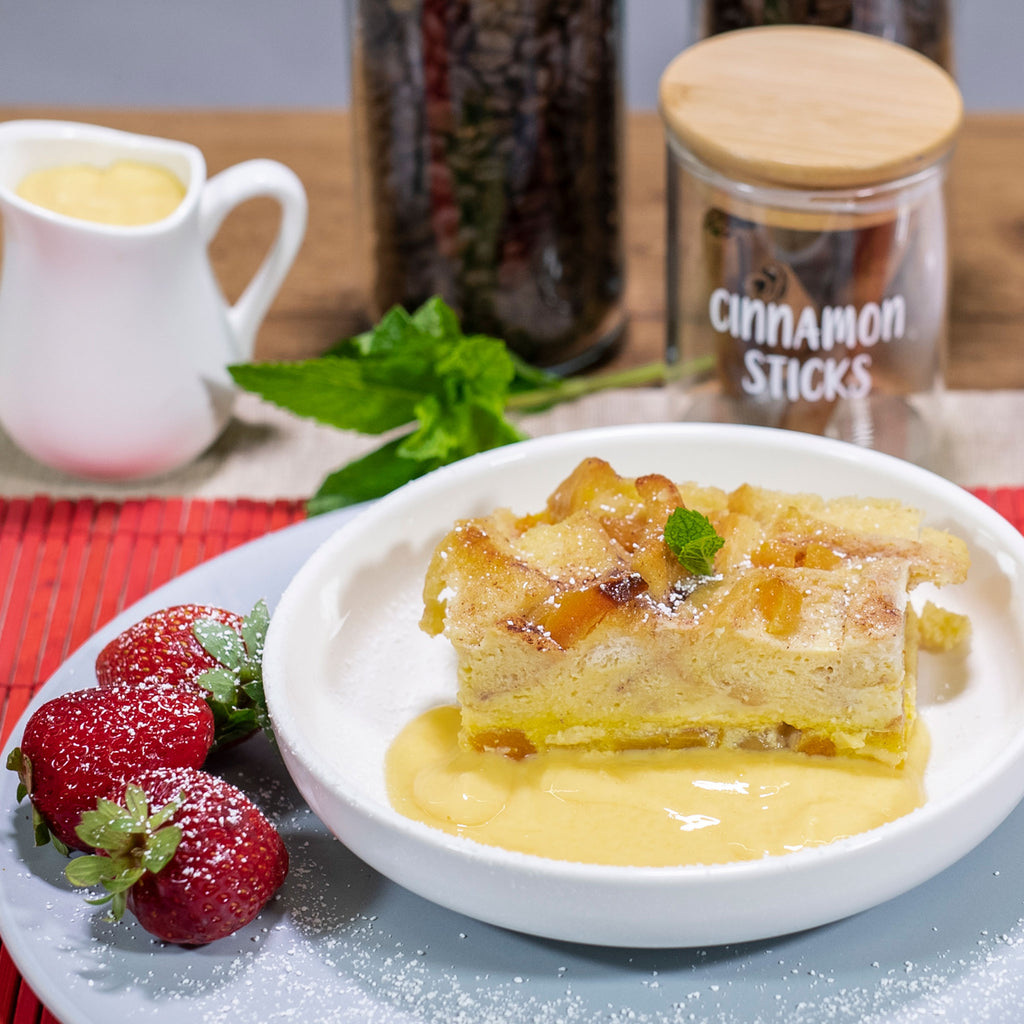 Marmalade Bread & Butter Pudding (single serve)