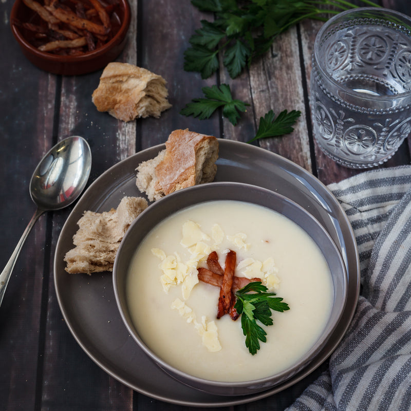 Cauliflower Bacon & Cheese Soup (single serve)