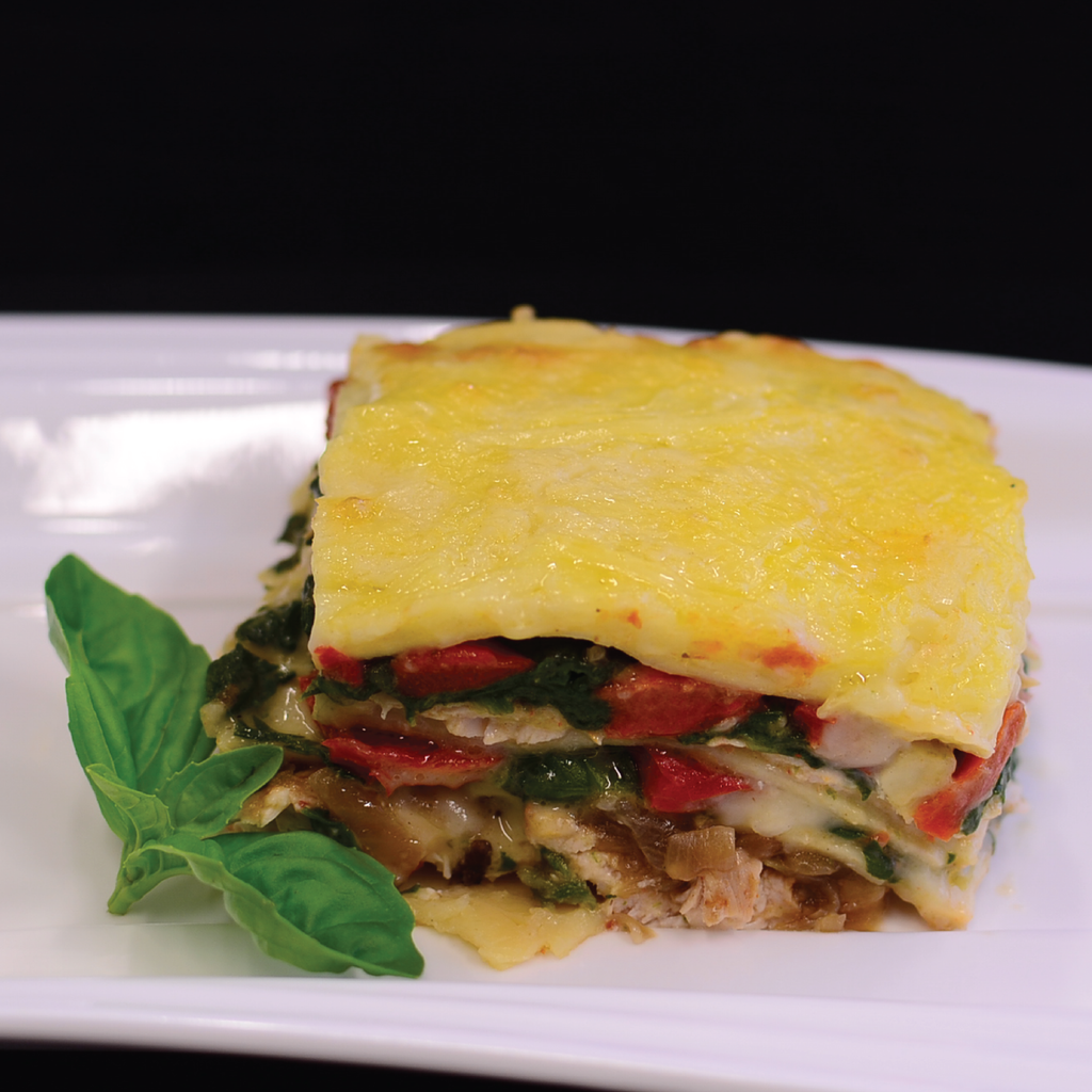 Chicken & Spinach Lasagne (3-4 portions)