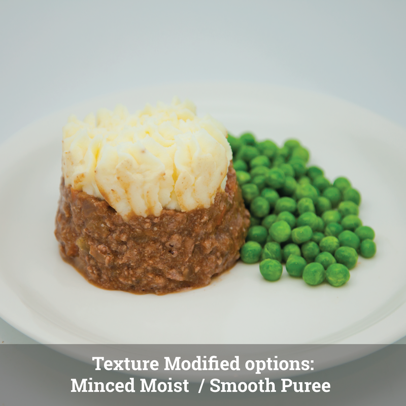 Cottage Pie: Texture Modified (single serve meal)