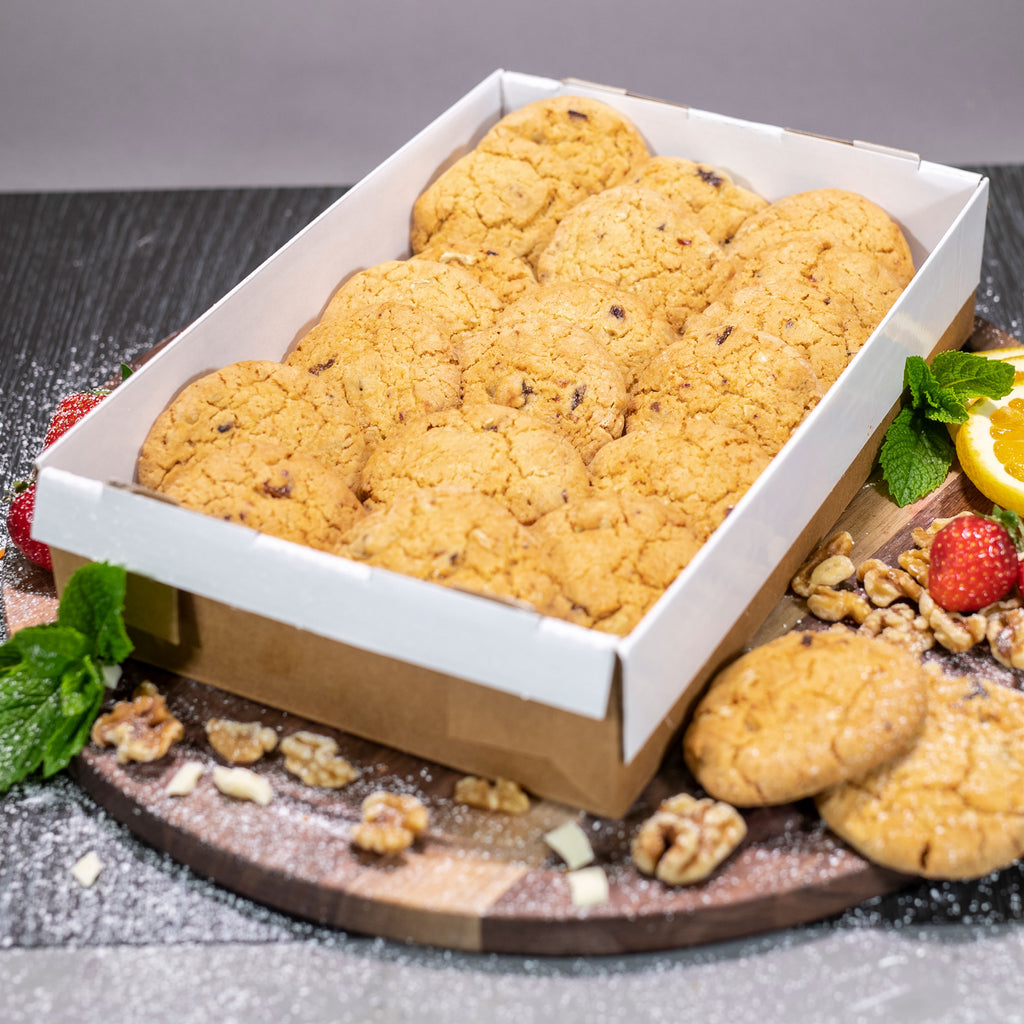 Contented Chef Date & Walnut Biscuits  (24 portions)