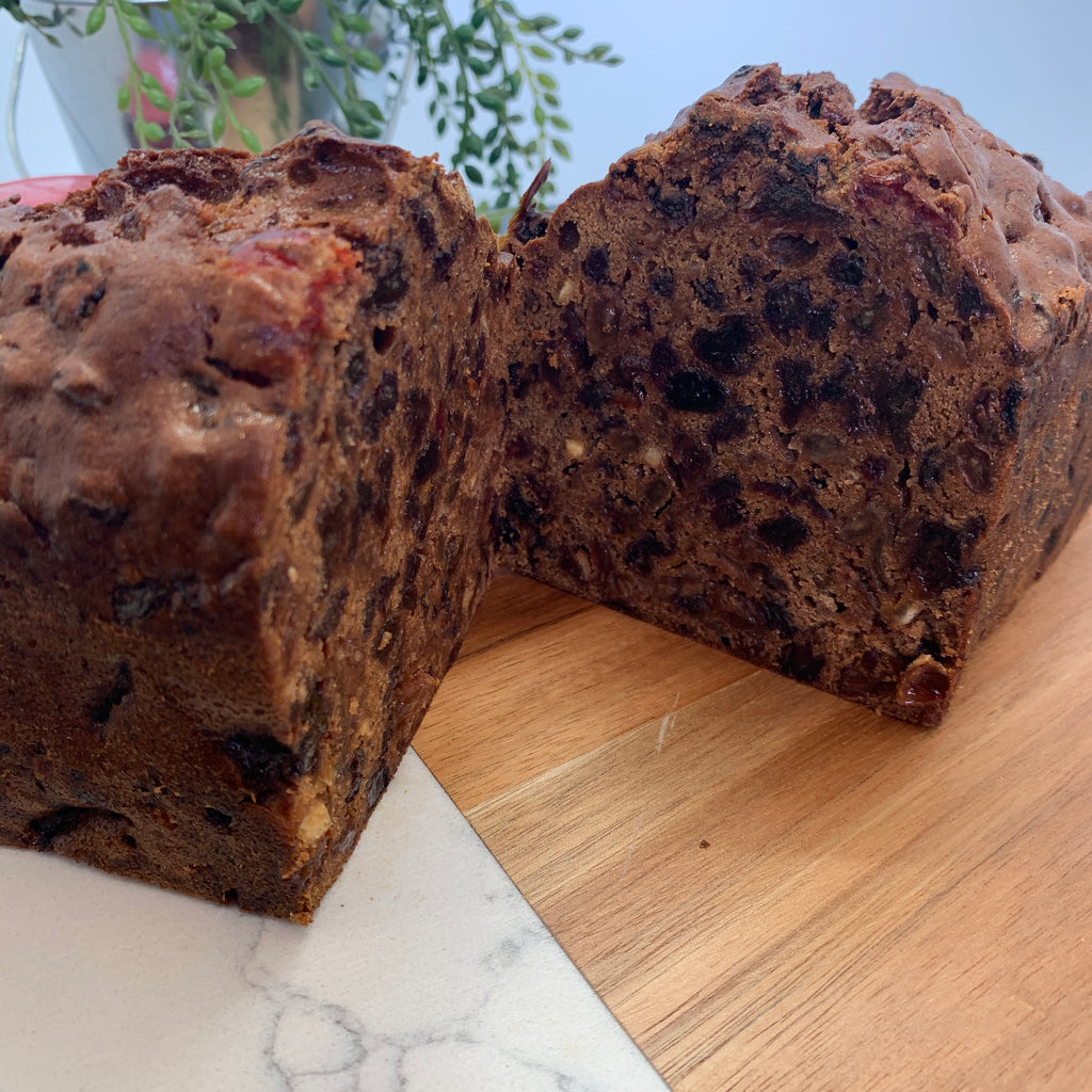 Contented Chef Rich Fruit Cake Uncut (12 -15 portions)