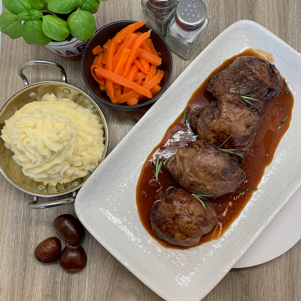 Slow Braised Rich Lamb Shank Dishes to Share(3-4 portions)
